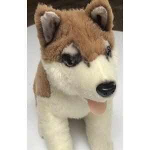 """Disney Store Snow Dogs 12"""" Plush  Mack Husky"""